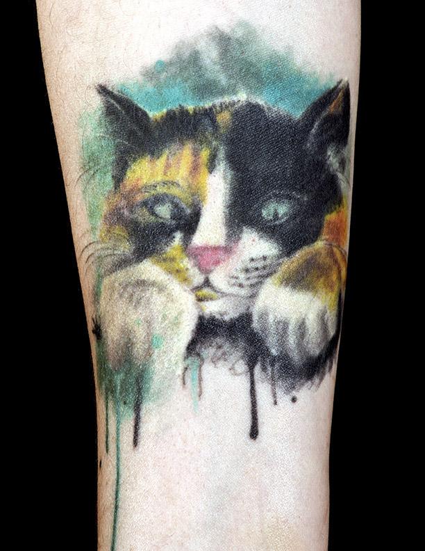 cat-watercolour
